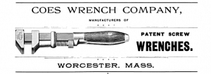 Coes Screw Wrench