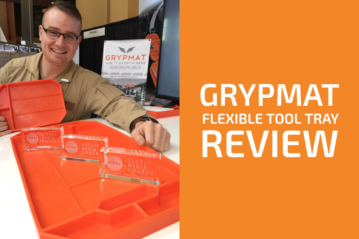Grypmat: A Flexible Tool Tray Seen on Shark Tank [Review]