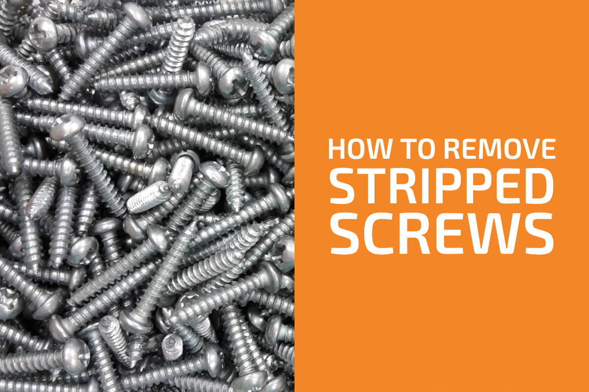 How to Remove Stripped Screws: 5 Tips