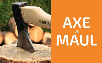 Splitting Wood: Axe vs. Maul
