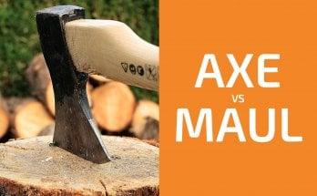 Splitting Wood: Axe vs. Maul