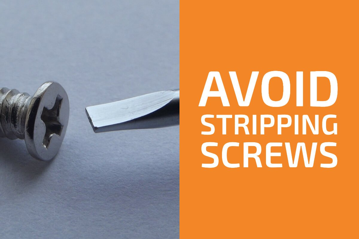 4 Tips to Avoid Stripping Screws