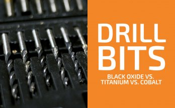 Black Oxide vs. Titanium vs. Cobalt Drill Bits: Which Type to Choose?