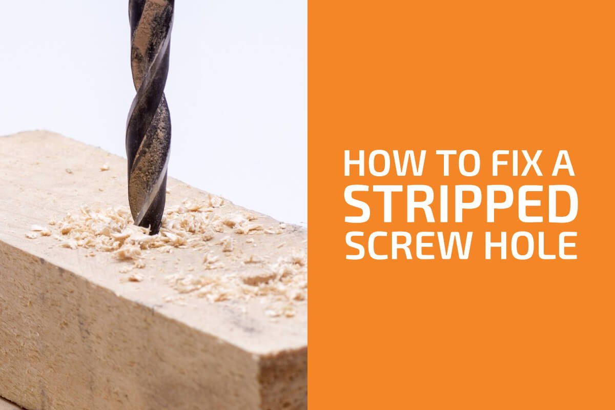 How to Fix a Stripped Screw Hole (Works with Wood, Plastic, and Metal)