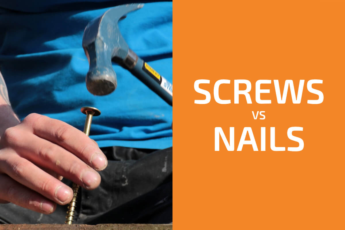 Screws vs. Nails: Which Fastener Should You Use?