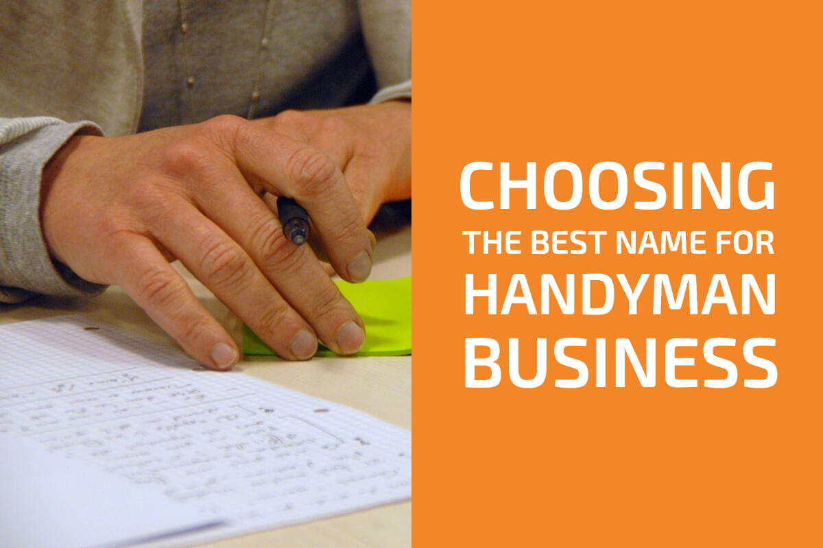 Choosing the Best Name for Your Handyman Business with Catchy Examples