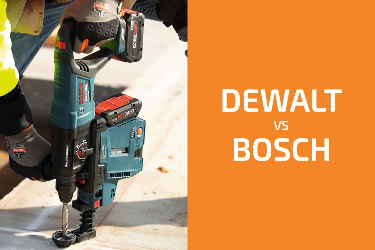 DeWalt vs. Bosch: Which of the Two Brands Is Better?