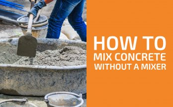 How to Mix Concrete Without a Mixer by Hand