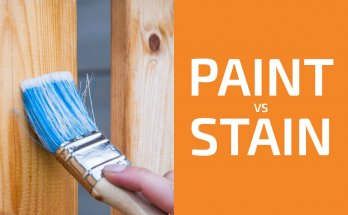 Paint vs. Stain: Which to Use for Deck, Cabinets, Furniture, And So On?