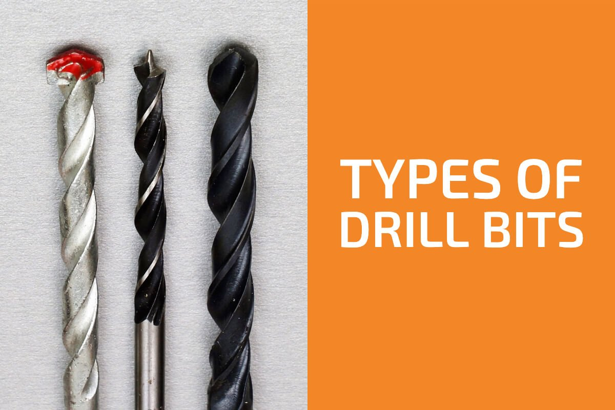 Types of Drill Bits You Need to Know and Their Uses