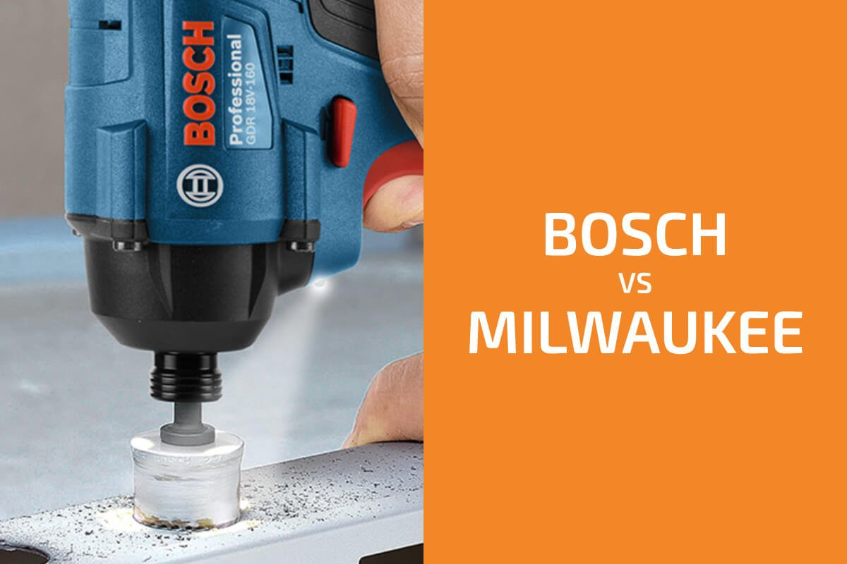 Bosch vs. Milwaukee: Which of the Two Brands Is Better?