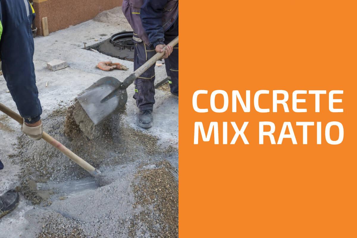 What Is Concrete Mix Ratio?