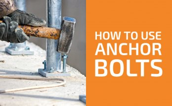 How to Use Anchor Bolts in Concrete, Bricks & Drywall