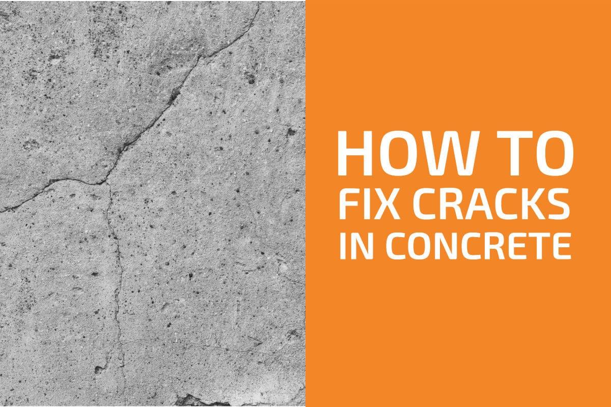 How to Fix Cracks in Concrete: 4 Best Methods