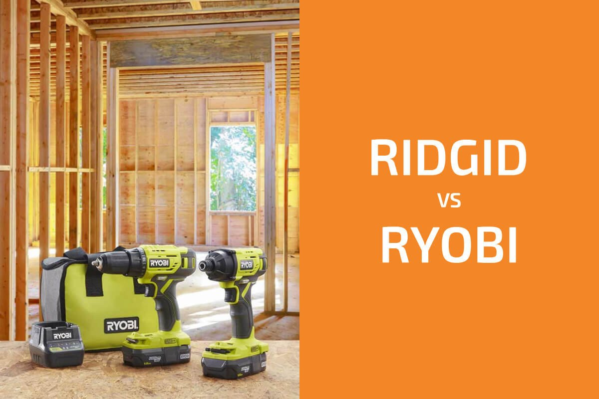 Ridgid vs. Ryobi: Which of the Two Brands Is Better?