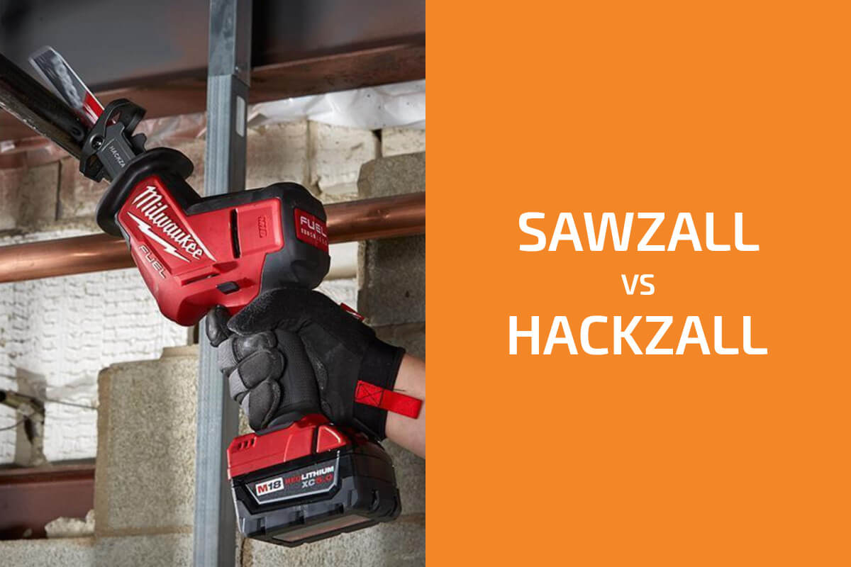 Sawzall vs. Hackzall: Which of Milwaukee's Recip Saws to Get?