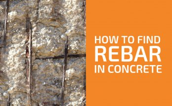 How to Find Rebar in Concrete