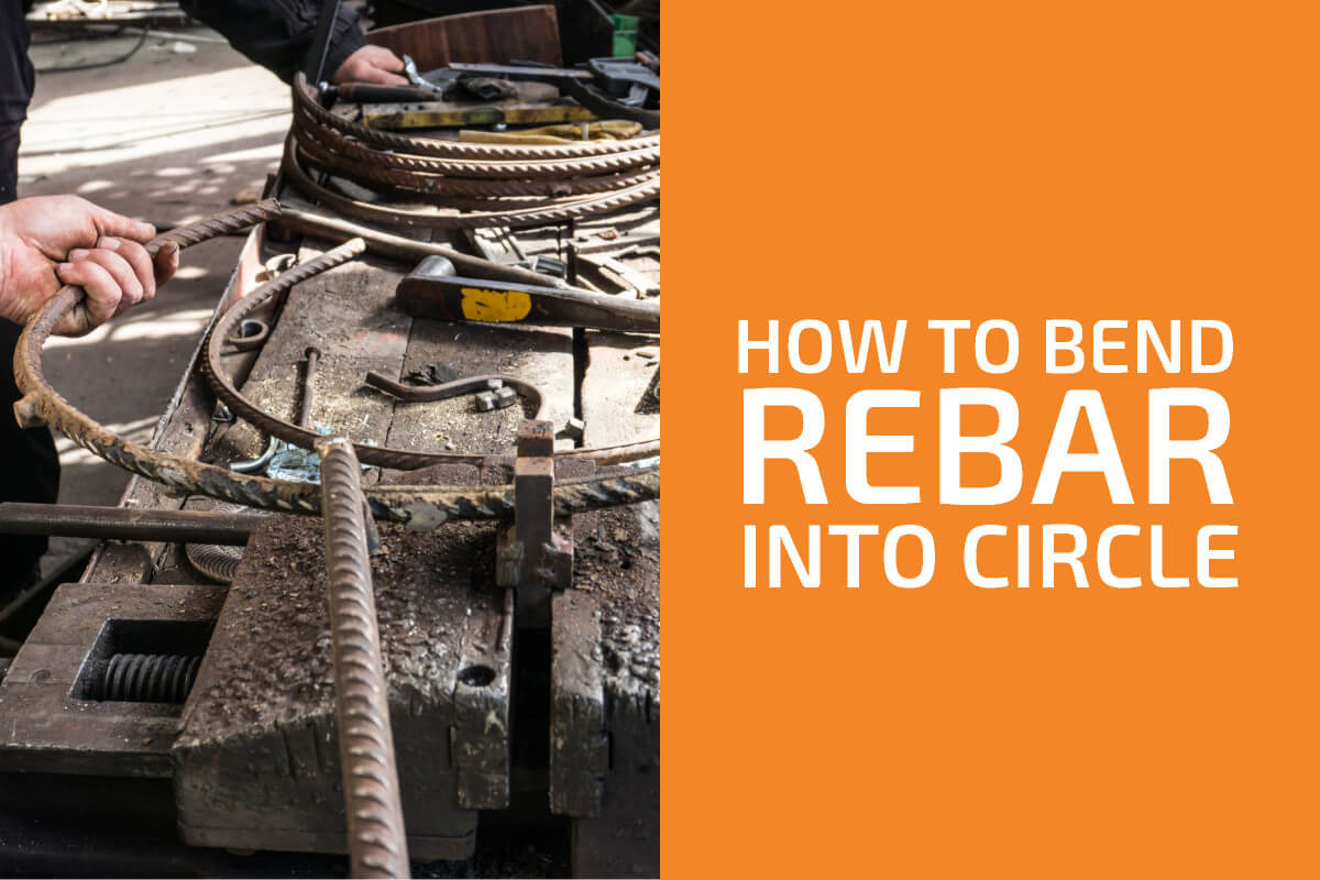How to Bend Rebar into a Circle or Spiral