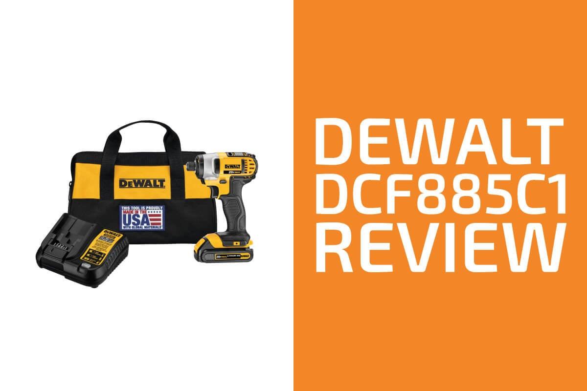 DeWalt DCF885C1 Review: A Good Impact Driver?