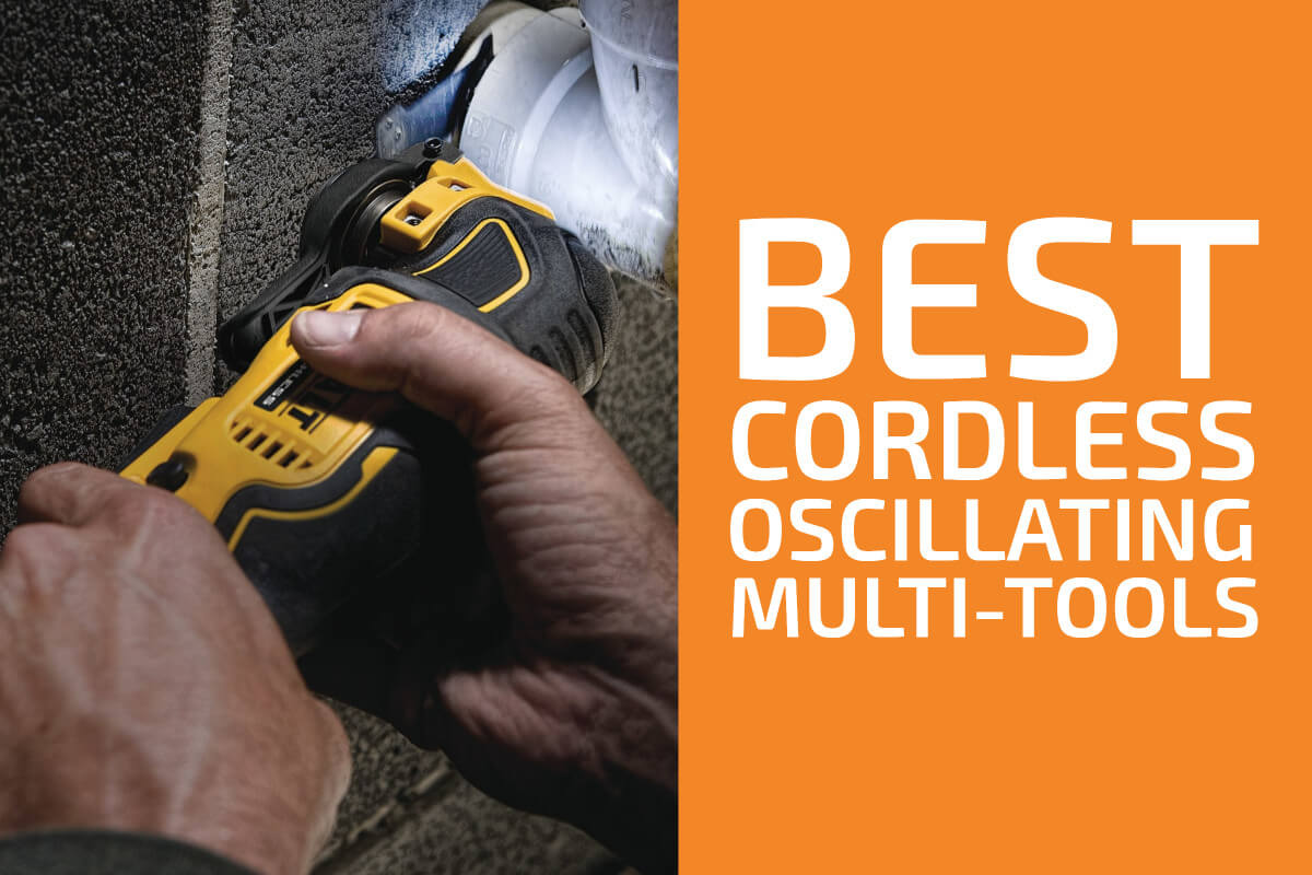 Best Cordless Oscillating Tools