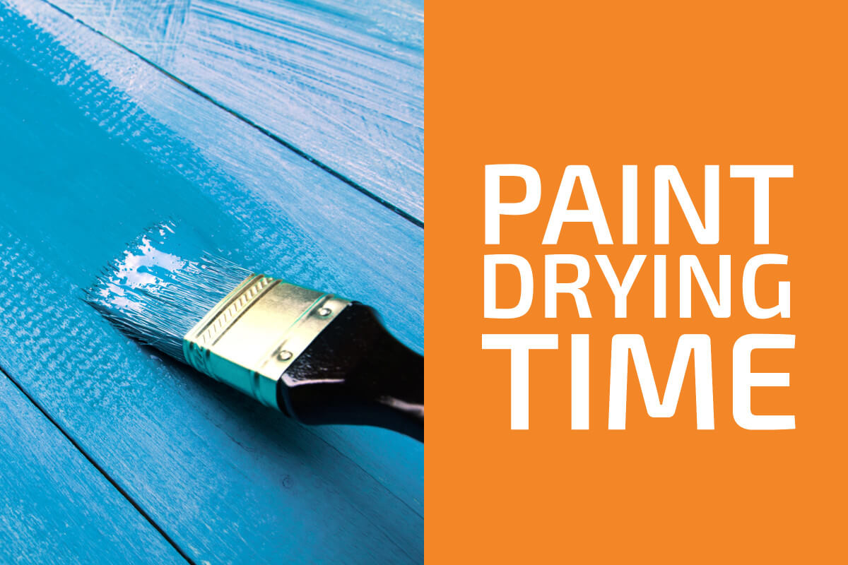 How Long Does It Take Paint to Dry?