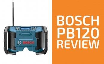 Bosch PB120 Review: A Good Jobsite Radio?