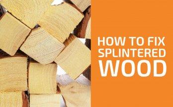 How to Fix Splintered Wood