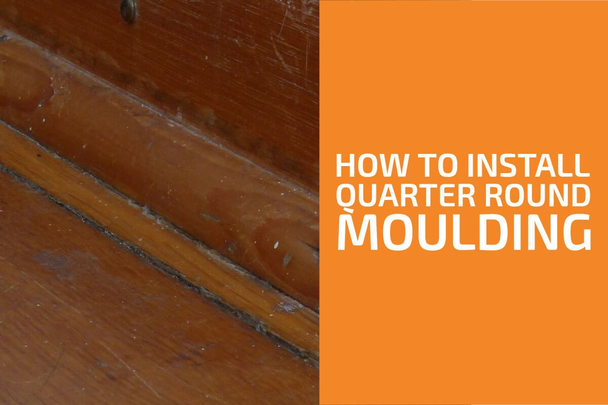 How to Install Quarter Round Molding with or Without Nails