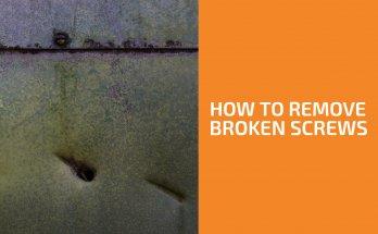 How to Remove Headless (Broken) Screws