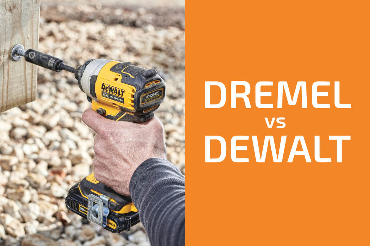 Dremel vs. DeWalt: Which of the Two Brands Is Better?
