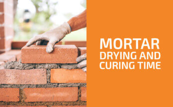 How Long Does Mortar Take to Dry and Cure