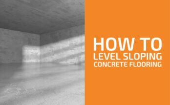 How to Level a Concrete Floor That Slopes